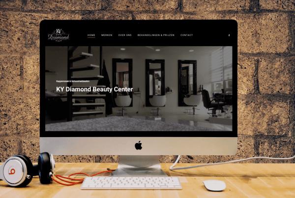 webdesign Kydiamondbeautycenter Zaandam