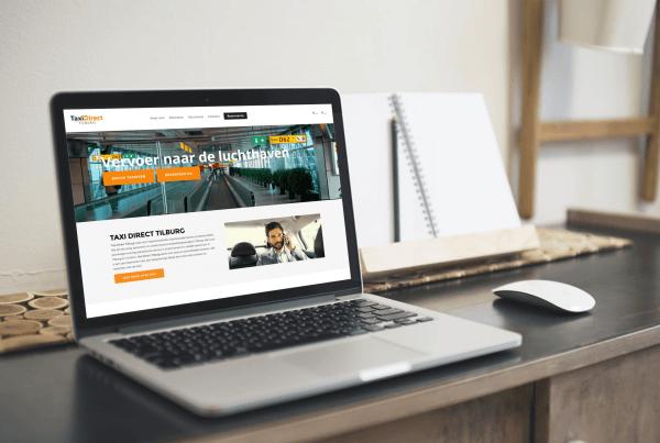 webdesign taxi direct tilburg door Lion Creations webdesign bureau Amsterdam