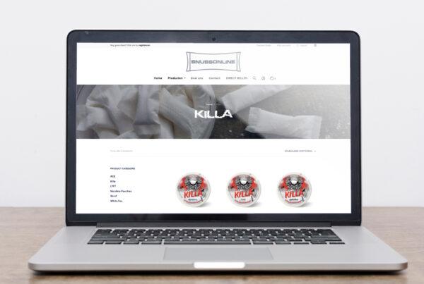 Webshop laten maken door een professionele bureau in Amsterdam Lion Creations